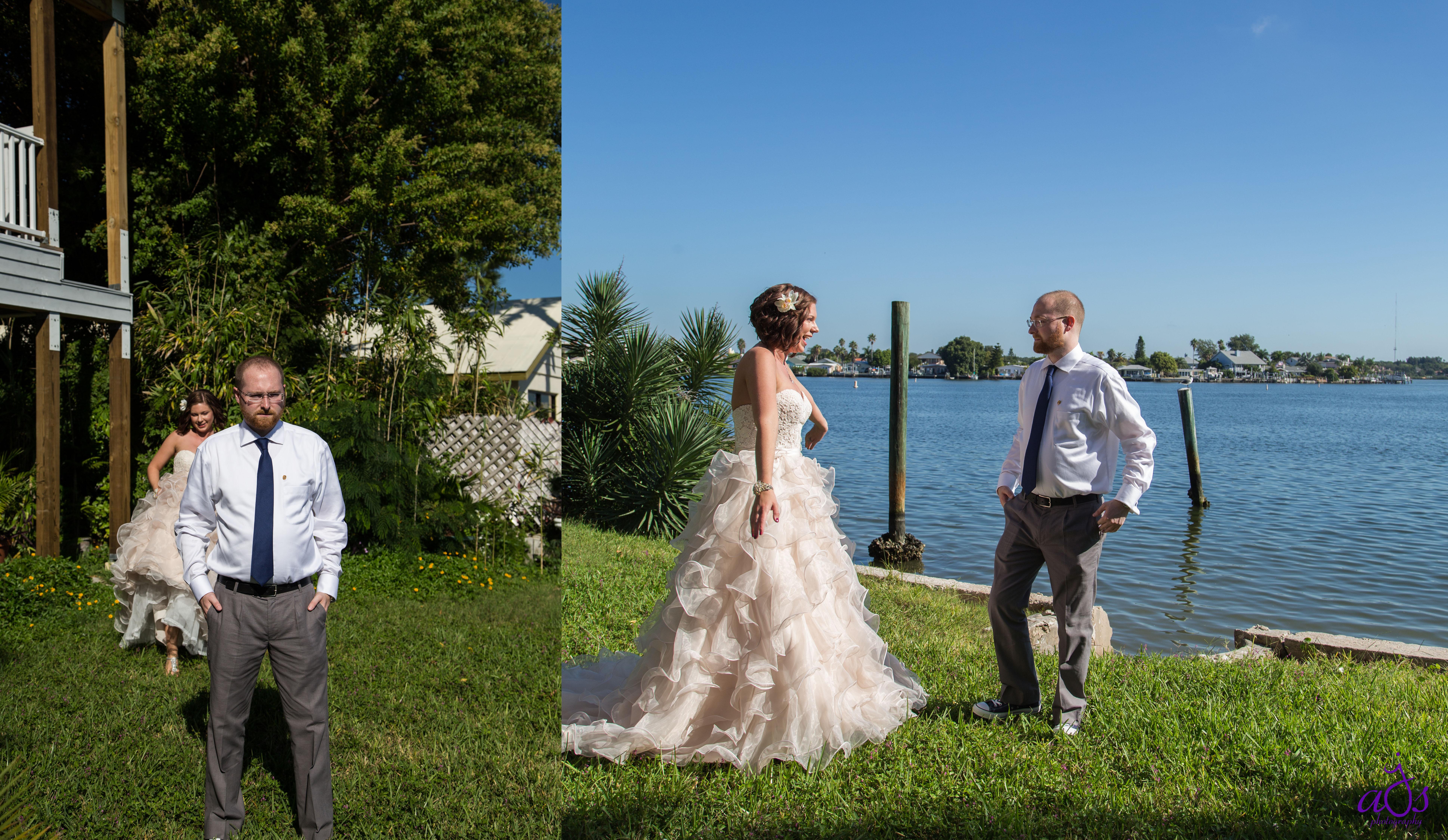 Elise & Kyle\'s Laid-Back Beach Wedding | j.a.s photography